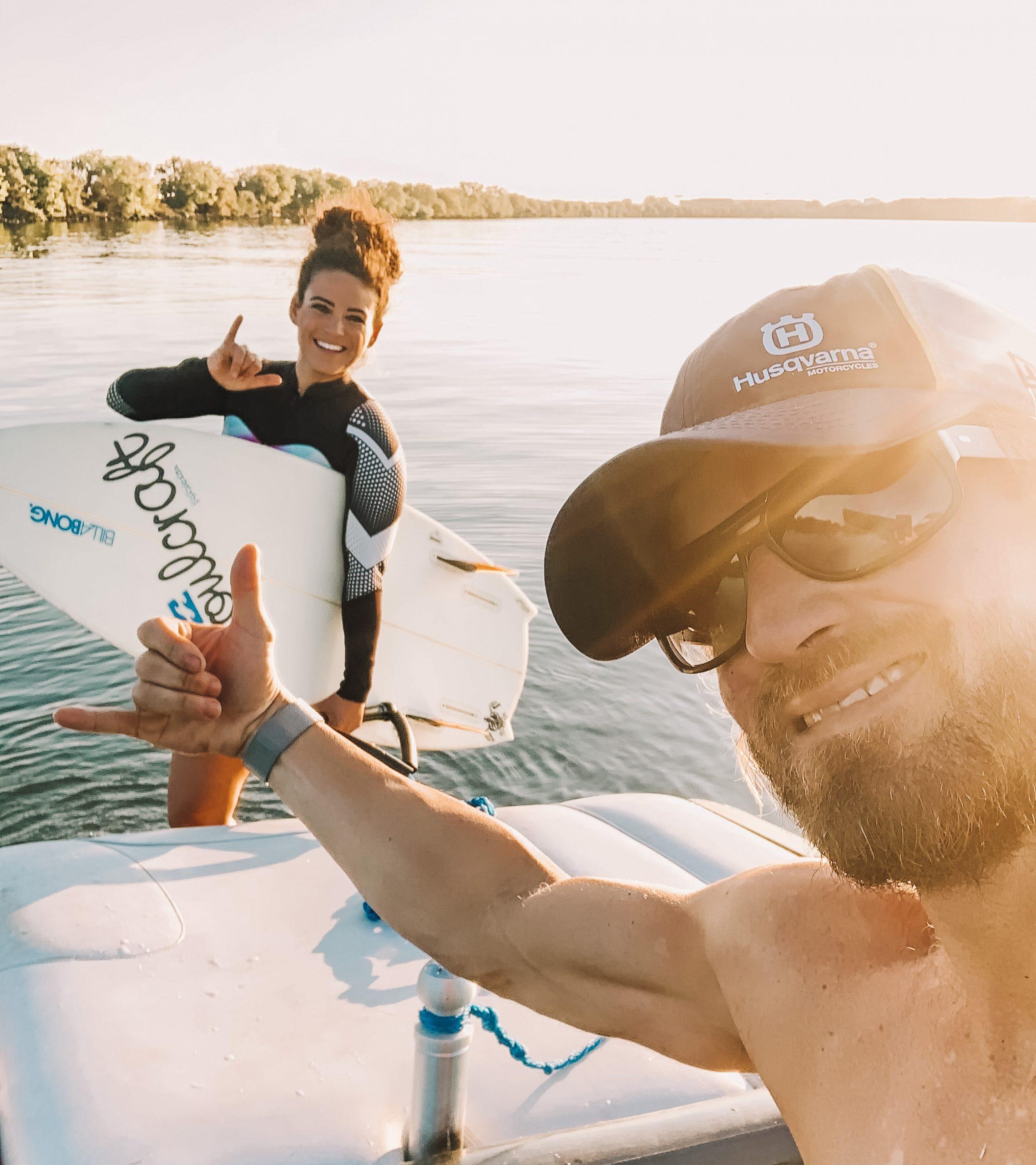 Justin and Khymii Niezgoda